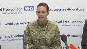 British army reservist successfully treated for Ebola with experimental drug