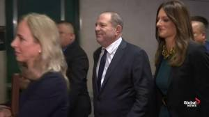 Harvey Weinstein in court, requesting to change legal representation