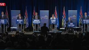 Opening statements of the final BC Liberal leadership debate