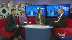 Edmonton political experts react to Alberta budget 2016