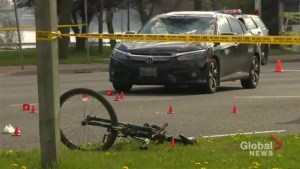 Cyclist killed in collision with truck in Leslieville