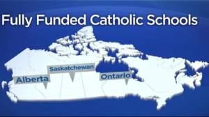 Canadians divided over full funding for Catholic schools