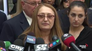 Sammy Yatim's mother reads statement following Forcillo sentencing