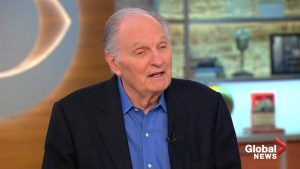 Alan Alda excited by the 'challenge' of living with Parkinson's