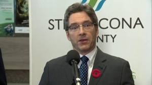 'There was a fire when I was leaving the building': Strathcona County mayor