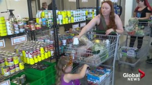 Foodbank looks more like grocery store in Kelowna