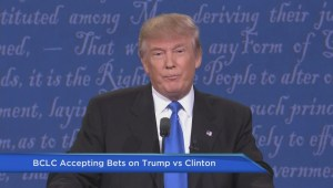 BCLC accepting bets on U.S. election Trump vs. Clinton
