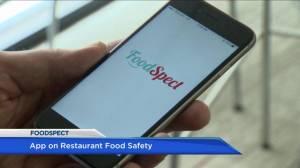 New app provides restaurant food safety information