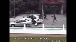 RAW VIDEO: Surviellance footage of Aug 14, 2011 shooting at Kelowna's Delta Grand Hotel