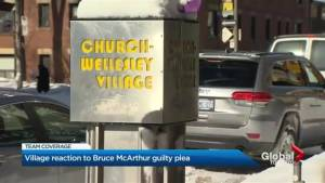 Village reacts to Bruce McArthur guilty plea