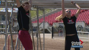 X Warrior Challenge turns Calgary Stampede rodeo grounds into obstacle course