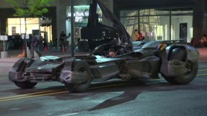 New Batmobile spotted on Toronto streets for 'Suicide Squad' shoot