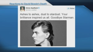 Fans react to death of legendary musician David Bowie