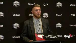Calgary Stampeders quarterback trying to focus on game plan for Grey Cup