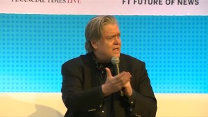 Bannon breaks silence on Cambridge Analytica