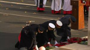 Royal Family marks Remembrance Day in England