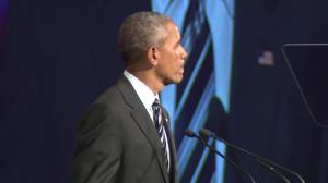 Obama offers good wishes to 'extraordinary, world-class city'