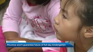 The impacts eliminating all-day kindergarten could have on families