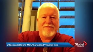 Psychiatrist's report said Bruce McArthur not a risk