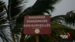 Hurricane Maria rips through Martinique island in Caribbean