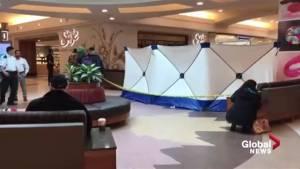 Man badly injured at Southgate Centre; Edmonton police investigating theft
