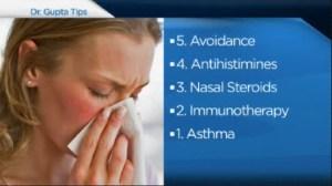 Tips for allergy season