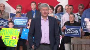 Harper announces $20 million for Canadian lobster industry at PEI stop