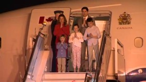 Trudeau family arrives in India for week-long visit