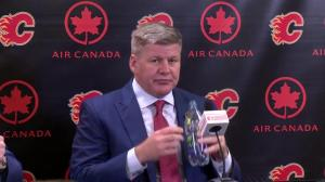 Bill Peters explains what he is most excited about in coaching the Calgary Flames