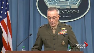 Pentagon says Syria strike hit 3 targets