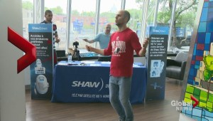 Shaw's SKIP-ping challenge in Montreal