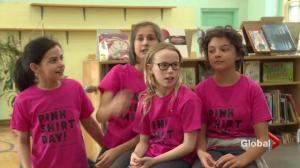 Westmount Elementary school student shows support for Florida shooting victims