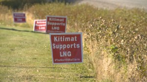 Kitimat reacts to announcement of huge LNG project