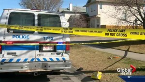 Calgary police on scene at a suspicious death