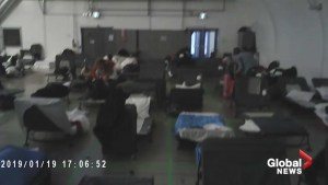 Hidden video shows footage inside one of Toronto's 24-hour respite centres
