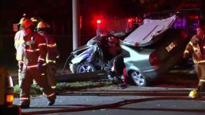 25-year-old man recovering after crash in Verdun