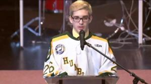 'You were a brother': Humboldt Broncos' Brayden Camrud remembers Conner Lukan