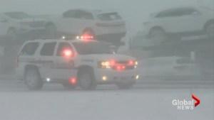 Multi-vehicle crash shuts down parts of interstate near Buffalo