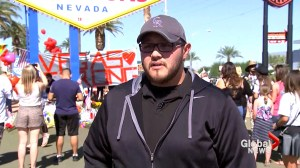 Las Vegas shooting 'Red Hat Hero' found through social media