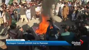 U.S. cancels $300 million in aid to Pakistan