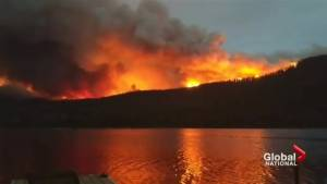 How fire crews tackle wildfires