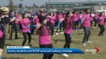 Surrey students and RCMP join forces for anti-bullying flash mob