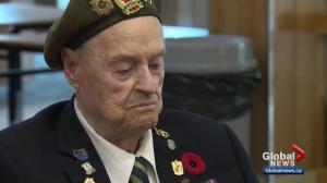 Military veteran celebrates his 100th birthday in Edmonton