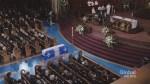 Funeral held for former premier Bernard Landry