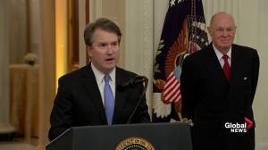 Brett Kavanaugh thanks senators, White House, law clerks and says 'I'll be forever grateful'