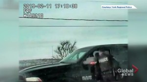York Police release video of alleged impaired driver asleep at the wheel in intersection