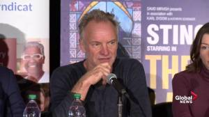 Sting on why he's showing solidarity with laid off Oshawa GM workers (03:14)