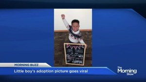 Adoption picture goes viral