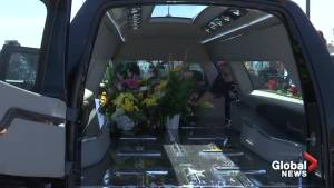Hearses deliver 1K flowers to memorial site honouring El Paso victims