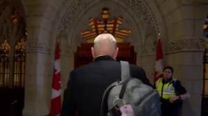 B.C. senator dodges money laundering questions
